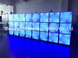 DJ Partie événement scène festive LED Éclairage du panneau de pixels modifiables adressable pour l'extérieur à l'intérieur de l'éclairage de plancher d'affichage numérique