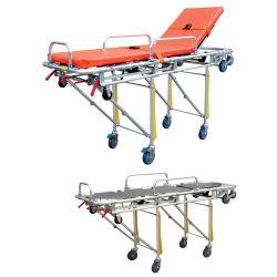 Brancard pliable prix d'usine Ambulence Meergency Chargement automatique brancard patient Trolley