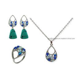 Мода украшения 925 серебристые или латунных украшений, Opal украшения бирюза украшения Drop Earring для женщин