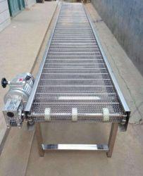 Malla de alambre de acero inoxidable con transportador de correa precio razonable.