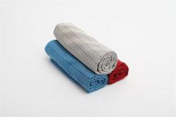 Het gepersonaliseerde Embleem van de Douane van de Handdoek van de Hand van Microfiber van de Premie Koele