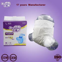 Pannolino adulto respirabile del Velcro di uso medico 2019 per l'incontinenza