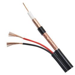 Prijs 75 Ohm Rg 59 van de fabriek RG6 Rg11 Rg7 de Kabel van kabeltelevisie van CATV met 2c 2 de Coaxiale Kabel van de Macht Rg59