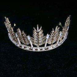 Accessoires de mode de Coiffure de mariage de mariée bijoux de cristal de la Couronne Tiara