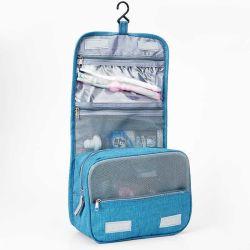 Организатор путешествия ванная комната хранения косметический мешок висящих набор туалетных принадлежностей подушки безопасности (ESG11740)