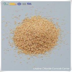 Le chlorure de choline Corncob transporteur liquides/en poudre Famiqs 67-48-1 Vitamine ISO