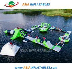 Parque Acuático personalizado de flotación inflable parque acuático Aqua Park