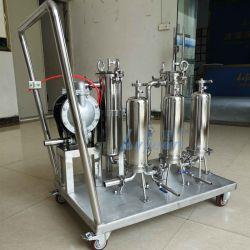 Usine Personnalisation OEM Moblile 1/2/3/4/5 étapes Sac de la cartouche de filtre en acier inoxydable de la machine pour VIN/ALCOOL/boissons/Oil/profondeur de l'eau du système de filtration de carburant