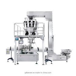 Полностью автоматическая Multihead о ходе работы выводится в канистры весом машины упаковки продуктов питания