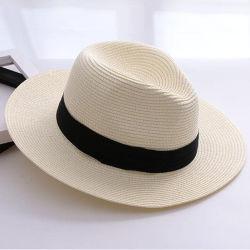 좋은 품질 주문 느슨한 서류상 끈목 바닷가 밀짚 모자