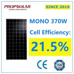 Haute efficacité Système d'énergie solaire d'accueil de l'alimentation 370 W monocristallin PANNEAU SOLAIRE PV
