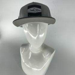 Qualidade superior de couro personalizado de algodão de Rótulo Borda Plana Hip Hop Boné Caminhoneiro Chapéus