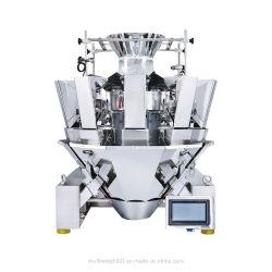 キャンデーの最もよい組合せの計重機のための10のヘッドMultiheadの計重機