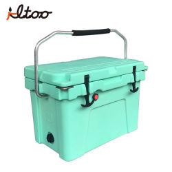 Enfriador de caja fría bloqueable rotomoldeado Marina alquiler de refrigerador y caja caliente