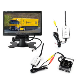 """2.4GHz de draadloze """" Camera van het Parkeren van de Monitor van Auto 7 Reserve Omgekeerde voor Bus/Vrachtwagen"""