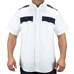 Personalisierbare Polyester Security Guard Uniform Shirt Police Officer