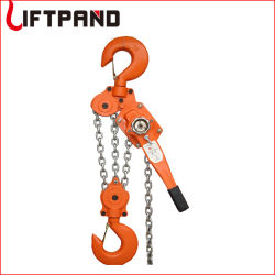 Palan à chaîne à cliquet du levier du bloc de chaîne de 0,75t 1.5T 3t 6t 9t