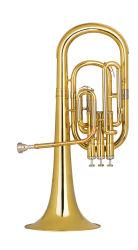 Venda por grosso de instrumentos de latão, 3 Pistão Alto Buzina, laca de ouro, Fabricado na China
