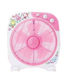 De Ventilator van de Doos van de Stijl van kinderen, de Elegante Ventilator van de Doos van het Ontwerp, de Ventilator van de Doos van het Beeldverhaal