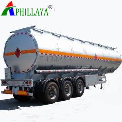 30-70m3燃料のタンカーのセミトレーラーの/Waterタンクステンレス鋼タンク(03)