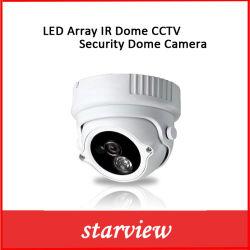 كاميرا قبة الأمان LED التي تعمل بالأشعة تحت الحمراء والتي تعمل بنظام CCTV
