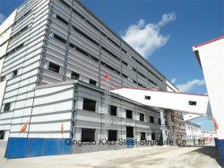 Helles Metallaufbau-Stahlkonstruktion-vorfabriziertes vorfabriziertgebäude