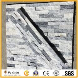 Naturel noir/blanc/jaune/Rusty/Vert de la culture de l'Ardoise cultivées pour revêtement mural de décoration en pierre