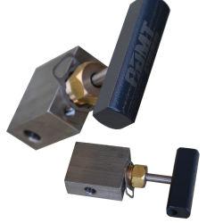 Buena calidad de la válvula de aguja de alta presión para equipos de comprobación