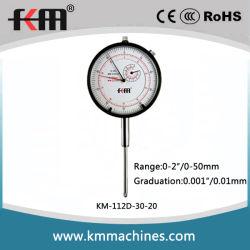 Em 0~500~2mm Medidor Indicador de Quadrante Ferramentas de medição de precisão