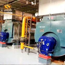2.1MW Caldera de Gas Pirotubular de Espalda Húmeda de Agua Caliente para Industria de Calefacción