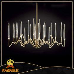 Decorativo contemporáneo colgante de acrílico transparente de las luces. (Cap17-028)