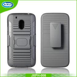 Heavy Duty golpes Diseño de alta calidad 3 en 1 Anillo armadura robot teléfono funda para iPhone 6/para Moto G4 Play