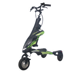 Trikke 3-Point Cambering Vehicles Scooter Estable 48V Vehículos de Talla Eléctrica Scooter