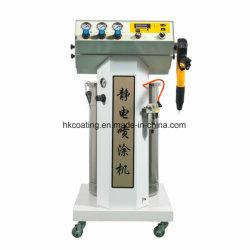 Máquina de pintura eletrostática por pó manual da linha de pintura a pó os equipamentos de pintura por spray