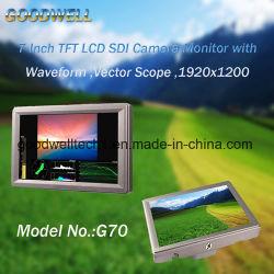 """7""""Monitor para el montaje de la cámara con SDI /entrada HDMI™"""