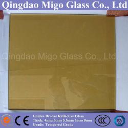 Het gouden Glas van het Blad van de Vlotter van het Brons Weerspiegelende (4mm 5mm 5.5mm 6mm 8mm)