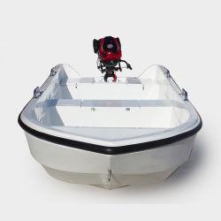 4,3 M 14FT 8 personne petit bateau de pêche en fibre de verre de la mer