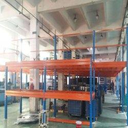 Depósito piso Mezzanine de paletes com sistema de Estrutura de aço/Estante