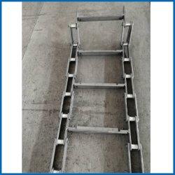 ANSI гибкие стальные конвейер Double-Pitch Side-Bow роликовые цепи