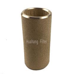De gesinterde Filter van het Poeder van het Brons van het Metaal van bronsfilters Poreuze voor productie van droog ijs