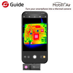 Androide Smartphone thermische Kamera für Nachtsicht und HVAC-Problem 25 Hz-Rahmen-Kinetik