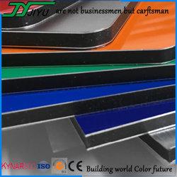 scheda composita di plastica di alluminio della parete di 4mm della decorazione esterna del rivestimento