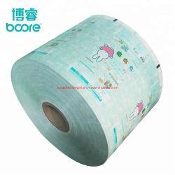 Film laminado de plástico impreso para el embalaje de toallitas de limpieza de Limón, los adultos las toallitas húmedas, la limpieza de las toallitas húmedas