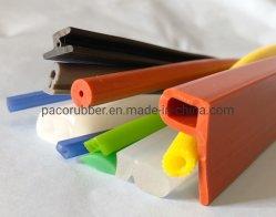 Extrusión de PVC ignífuga burlete de caucho de silicona caucho EPDM junta de goma para el marco de la puerta de la ventana de aluminio