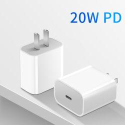Caricatore veloce del telefono dell'adattatore di potere del palladio 18W 20W USB-C dell'OEM per il iPhone 12 PRO