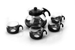 [1.3ل] يتعدّد روسيا زجاجيّة شاي إناء قهوة إناء الصين بالجملة [نون-توإكسيك] عامّة [بوروسليكت غلسّ] [أبّليقو] فنجان زجاجيّة [تبوت] مجموعة