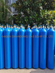 فولاذ ملحومة أسطوانة غاز طبيّة صناعيّة أسطوانة أكسجين نيتروجين غاز أرغون [ك2] يعبّئ أسطوانة دباب