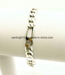 Плоские Фигаро звеньями браслета шириной 7 мм для Мужчин Женщин