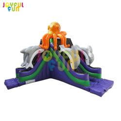 *12 anos alegre diversão ao ar livre por grosso de Fábrica de Brinquedos Slide insufláveis