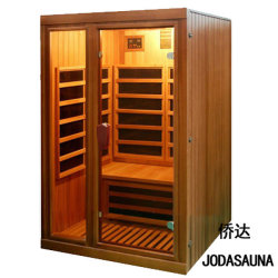 Commerce de gros l'utilisation commerciale de cèdre rouge de l'ozone Sauna à infrarouge lointain pour corps minceur